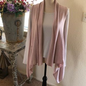 Demonia angora/cashmere blend sweater vest